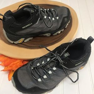 Merrell Hiking Athletic Shoe With Vibram Sole